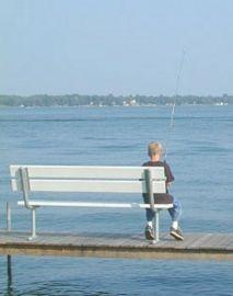 Fishing on lake maxinkuckee history and genealogy of for Lake hodges fishing report